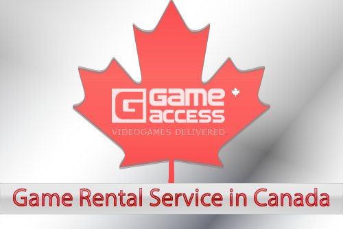Game Rental Service in Canada
